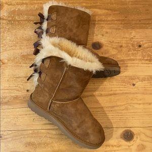 Girls Ugg Australia Boots K Bailey Bow